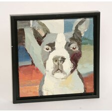 Boston Terrier Framed Original Painting