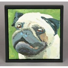 Pug Framed Original Painting