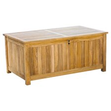 Le Spa 165 Gallon Teak Deck Box