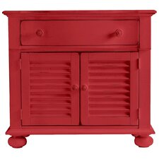 Coastal Living Cottage 1 Drawer Nightstand