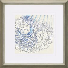 Vintage Jellyfish I by Sparx Studio Framed Painting Print
