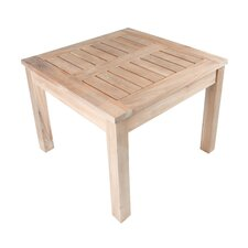Nantucket Solid Teak Square Side Table