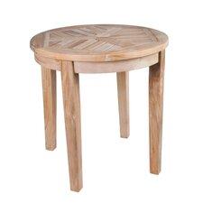 Nantucket Solid Teak Round Side Table