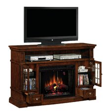 Belmont Media Fireplace Mantel