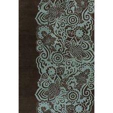 Aschera Blue/Black Area Rug