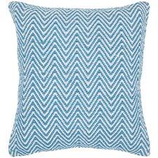 Chevron Contemporary Cotton Throw Pillow