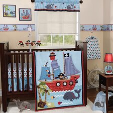 Treasure Island 3 Piece Crib Bedding Set