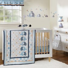 Andrew 3 Piece Crib Bedding Set