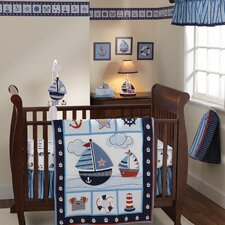 Sail Away 3 Piece Crib Bedding Set