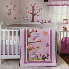 Lavender Woods 3 Piece Crib Bedding Set