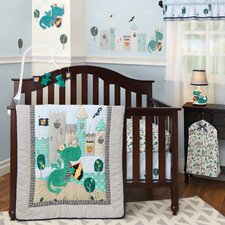 Sparky 3 Piece Crib Bedding Set