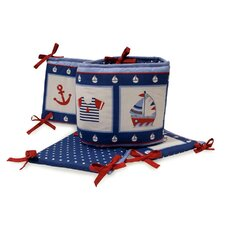 Sail Away Crib Bumper