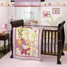Lil' Friends 3 Piece Crib Bedding Set