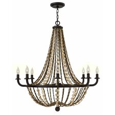 Hamlet 8 Light Candle Chandelier