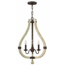 Middlefield 3 Light Candle Chandelier