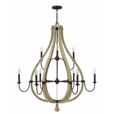 Middlefield 9 Light Candle Chandelier