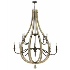 Middlefield 12 Light Candle Chandelier