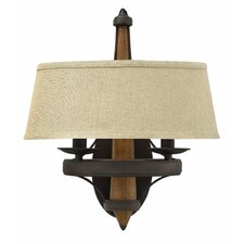 Bastille 2 Light Wall Sconce