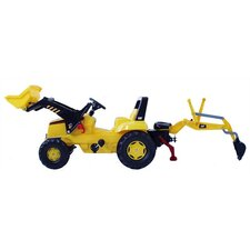 CAT Front Loader Pedal Construction Vehicle with Backhoe
