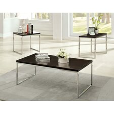 Howie Retro 3 Piece Coffee Table Set