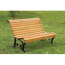 Simply Slatted Outdoor Garden Bench