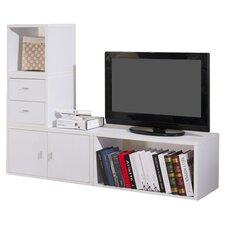 """Marin Modular 4 Piece 47.5"""" Standard Bookcase"""