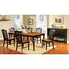 Tanner 7 Piece Dining Set (Set of 7)