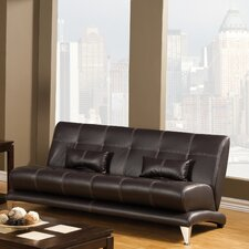 Sewell Leatherette Sofa and Loveseat Set