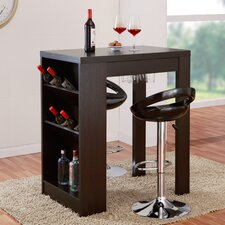 Geardo Bar Set with Wine Storage