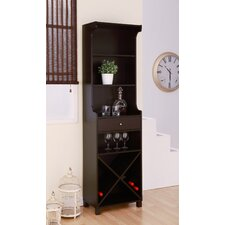 Reagon Bar Cabinet with Wine Storage