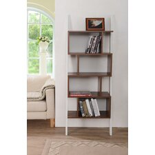 """Mateo 71"""" Leaning Bookcase"""