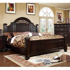 Sienzie Arched Floral Panel Bed