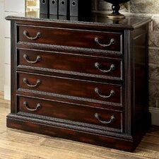 Delane 4-Drawer File Cabinet