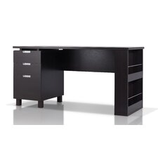 Ronan Computer Desk with File Cabinet