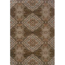 Tara Updated Traditional Grey/Brown Area Rug