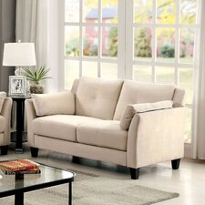 Sheena Contemporary Tufted Loveseat