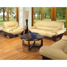 BM 3 Piece Leather Sofa Set