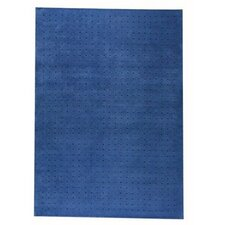 Mat The Basics Snow Blue Area Rug