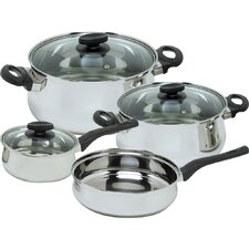 Deliss Stainless Steel 7 Piece Cookware Set