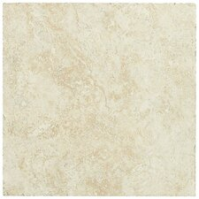 "Piazza 20"" x 20"" Porcelain Field Tile in Ivory"