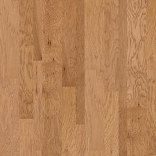 Hudson Bay Random Width Engineered Hickory Hardwood Flooring in Raw Silk