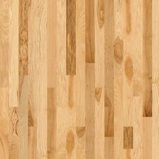 "Lucky Day 3-1/4"" Solid Hickory Hardwood Flooring in Rustic Natural Hickory"