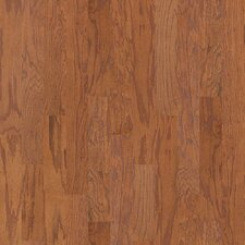 "Smoke House 5"" Engineered Red Oak Hardwood Flooring in Saddle"