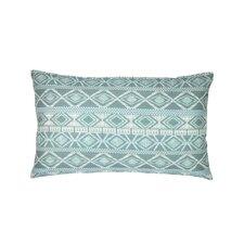 Printed Linen Lumbar Pillow