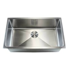 "Ariel 32"" x 19"" Single Bowl Undermount Kitchen Sink"