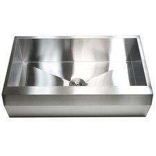 "Ariel 36"" x 22"" Stainless Steel 16 Gauge Single Bowl Farmhouse Kitchen Sink"