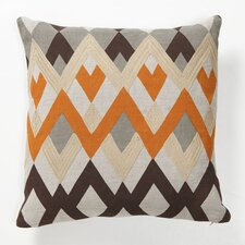 Bijou Echo Org Linen Throw Pillow
