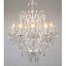 Versailles 5 Light Crystal Chandelier