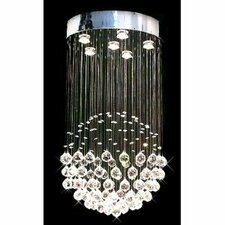 Rain Drop Crystal Chandelier