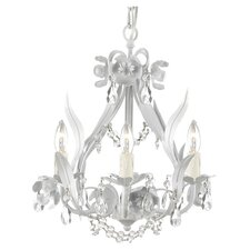 Garden 4 Light Crystal Chandelier